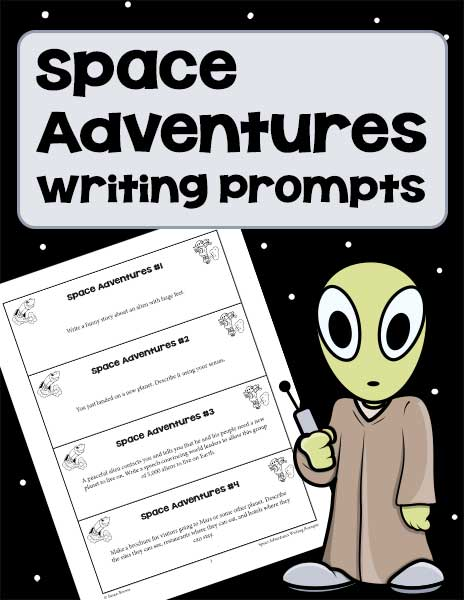 Space Adventures Writing Prompts