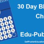 30 Day Blogging Challenge for Edu-Publishers